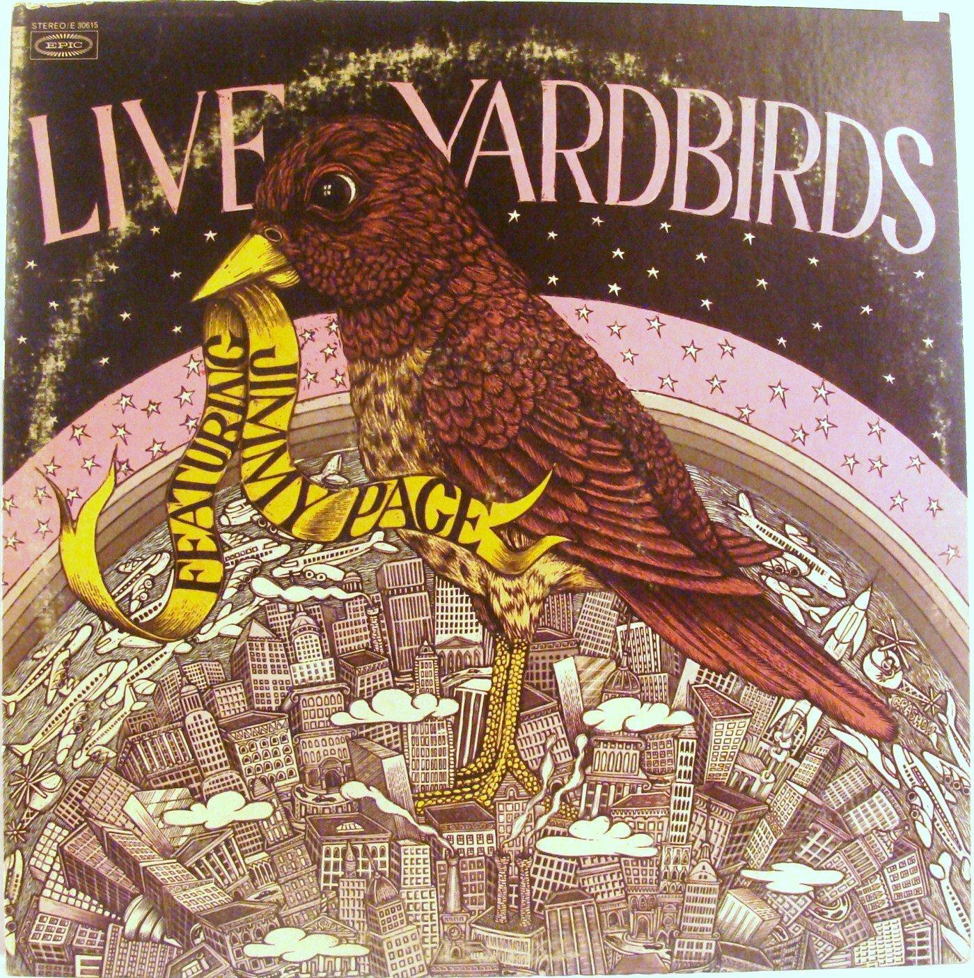 The Yardbirds - Live Yardbirds Featuring Jimmy Page - Amazon.com Music