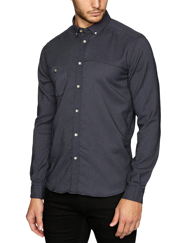 NUNC Herren Shirt , Button-down
