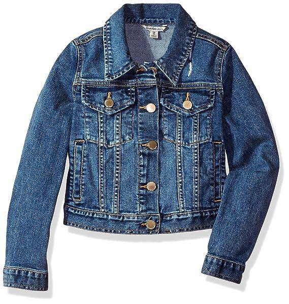 Amazon.com: Calvin Klein - Chaqueta vaquera para niña: Clothing