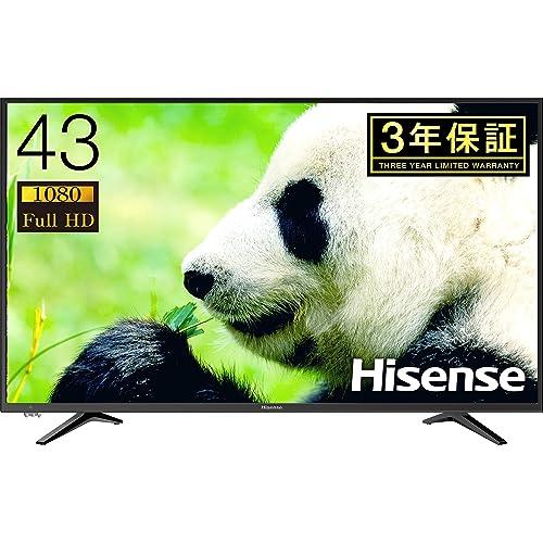 ハイセンス フルハイビジョン LED液晶テレビ 43A50