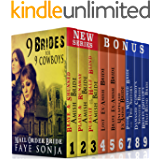 9 Book Boxed set : 9 Brides for 9 Cowboys