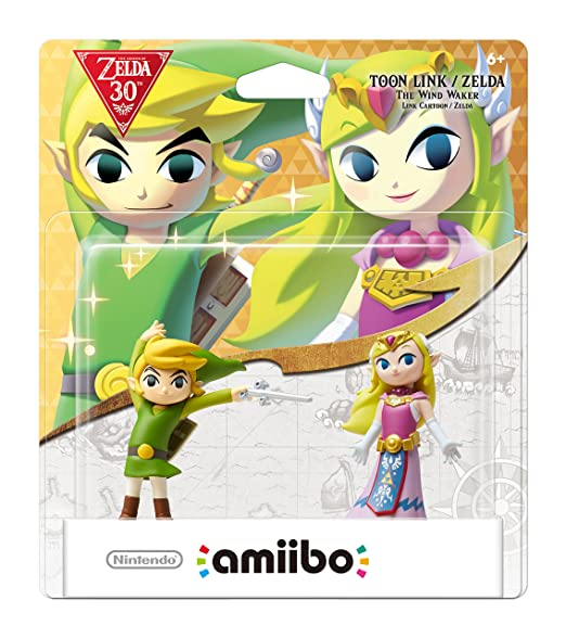 Nintendo Toon Link/Zelda : The Wind Waker amiibo 2-Pack 30th