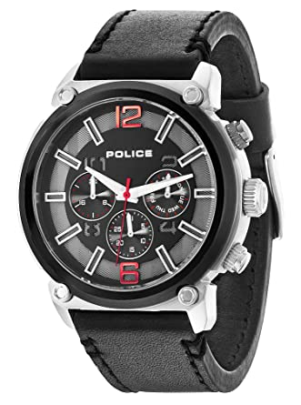 Police 14378JSTB-02 Mens Armor Black Watch