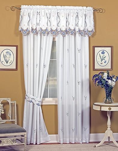 The_Curtain_Shop Verona Embroidered Ensemble 84 Panel Pair Ecru Rose