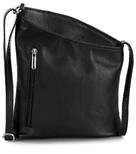 b036c69e2cef LIATALIA Womens Mini Genuine Soft Leather Cross Body Cross-Body Shoulder  Bag Purse - JOY