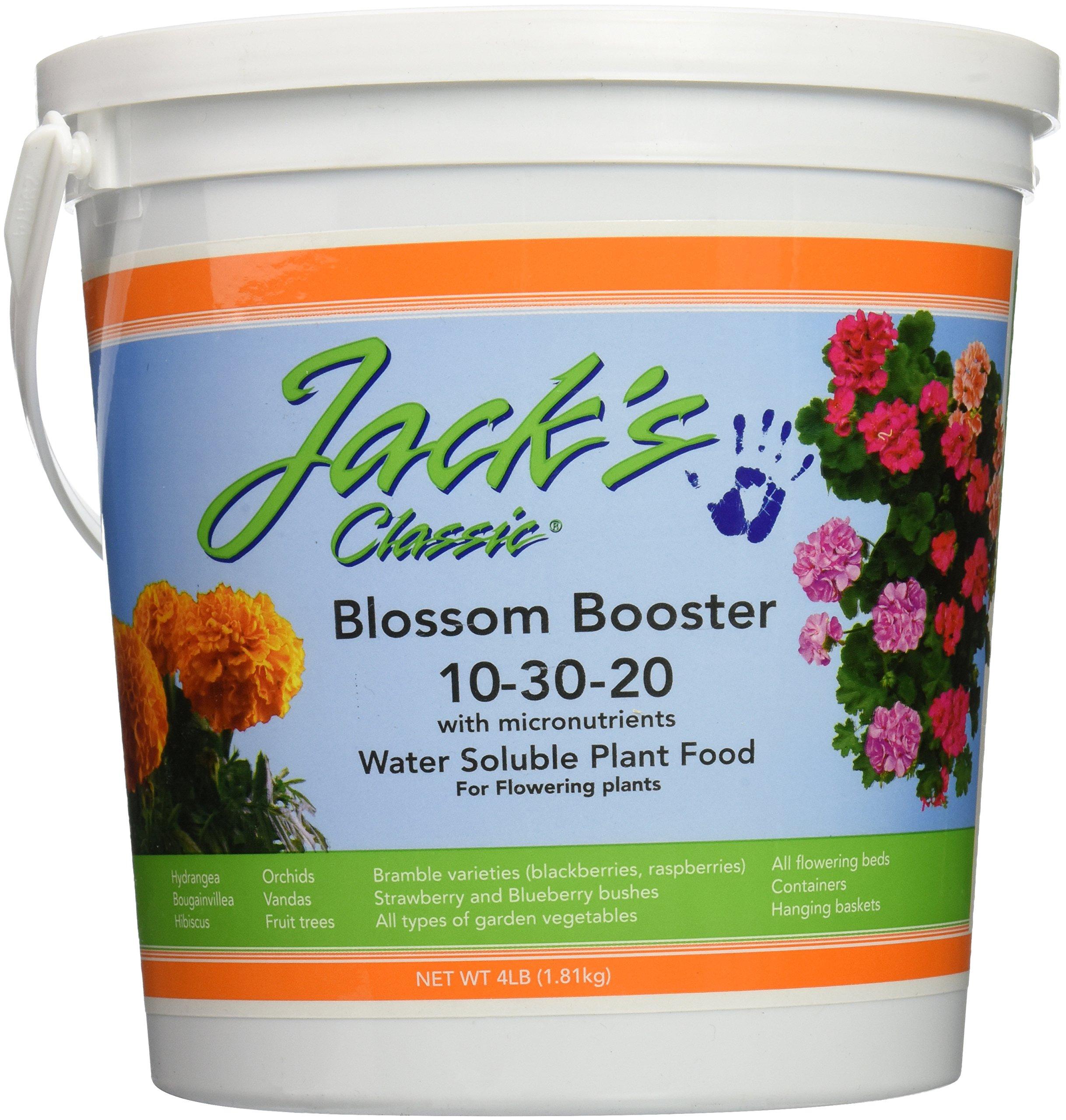 J R Peters Jacks Classic No.4 10-30-20 Blossom Booster Fertilizer
