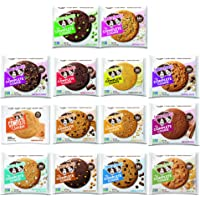Adventure Box Complete Cookie, Variety Sampler Pack All 14 flavors included, 4 Ounce Cookies - Soft Baked, Vegan and Non GMO Protein Cookies, 14 Count, by Adventure Box