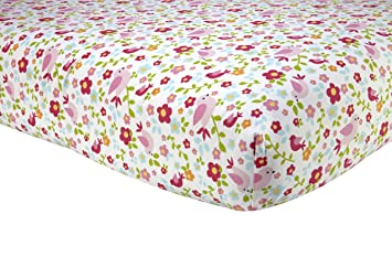 Amazon sadie scout chelsea pink floral crib sheet baby sadie scout chelsea pink floral crib sheet gumiabroncs Choice Image