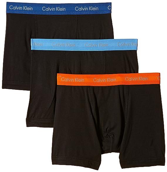 Calvin Klein 0000U2662G - Bóxer para hombre (Pack de tres): Amazon.es: Ropa y accesorios