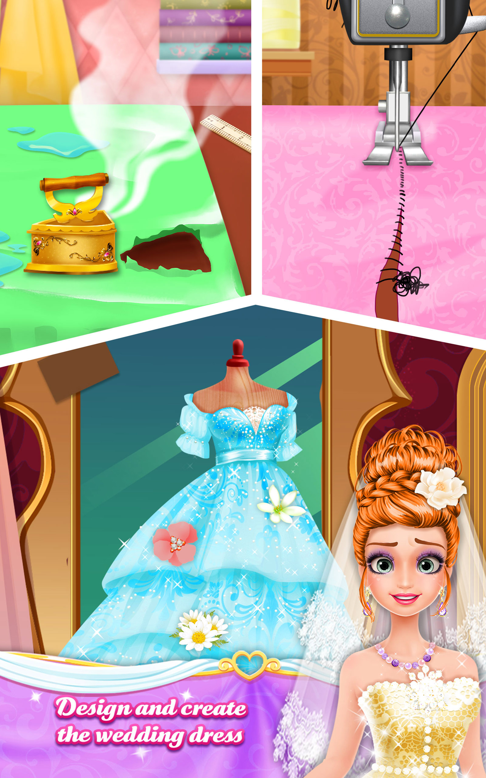Amazon.com: Long Hair Princess Dream Wedding: Appstore for Android
