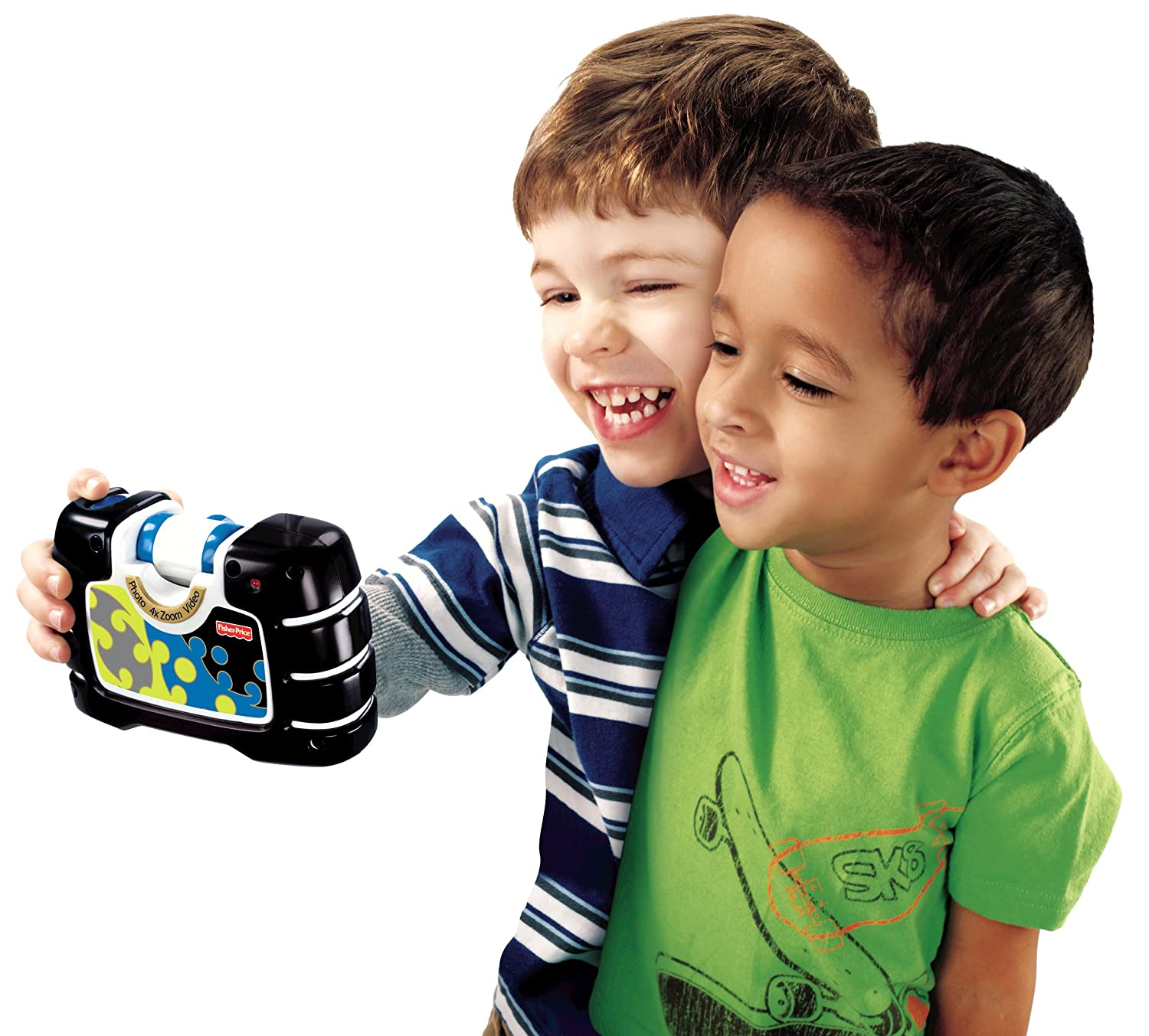 Amazon.com: Fisher-Price Kid-Tough See Yourself Camera, Black: Toys & Games