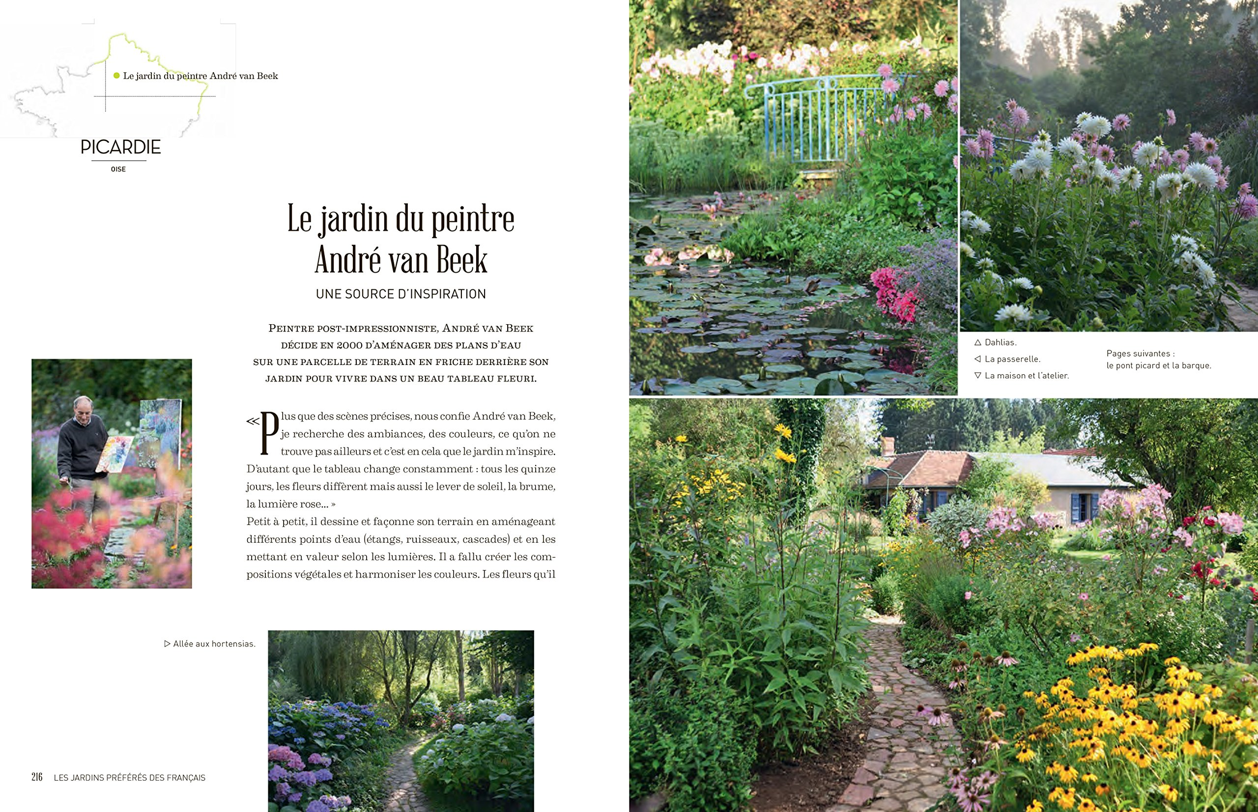 Les jardins preferes des français (Nature & Animaux): Amazon.es ...
