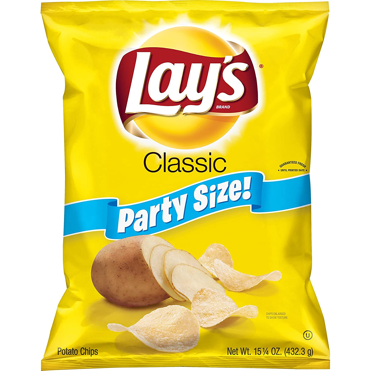 Lay's Classic Potato Chips, Party Size! (15 25 Ounce)