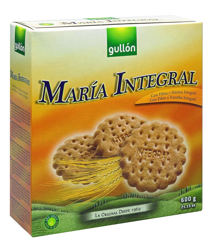 Gullón - María Integral - Galletas María Integral - 3 X 200 g - [pack de 5]: Amazon.es: Alimentación y bebidas