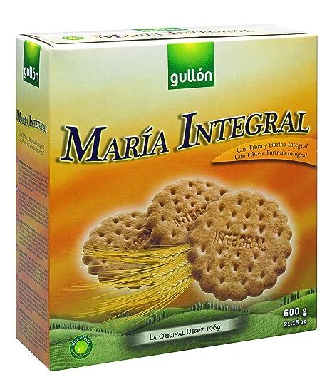 Gullón Integral Galletas María - Pack de 3 x 200 g - Total: 600 g