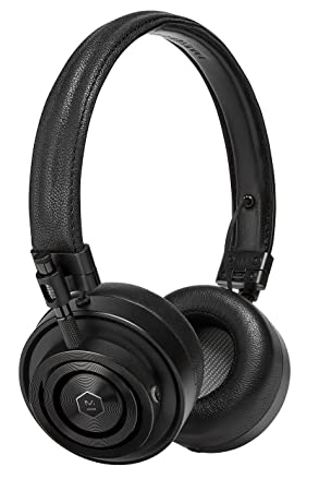 Master Dynamic MH30B1 Foldable Premium Leather On-Ear Headphones with Superior Sound Quality and Highest Level of Design – Black Leather