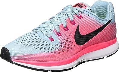 Nike Air Zoom Pegasus 34 Zapatillas de running para mujer, Rosa, 8.5 M US