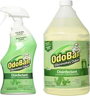 Amazon com: OdoBan Ready-to-Use 32oz Spray Bottle and 1 Gal