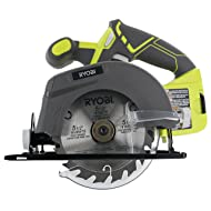 """Ryobi One+ P505 18V Lithium Ion Cordless 5-1/2"""" 4,700 RPM Circular Saw (Battery Not Included, Power Tool Only)"""