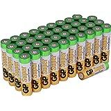 Conservation Pack Lot de 40piles AA alcalines Super [Produit GP Batteries]