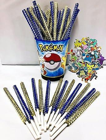 Amazon.com: Pokemon inspirado en fiesta Bling palos para ...