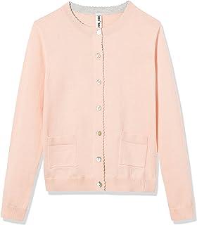 83b8cc83c05 Amazon.com: Long Sleeve deep V-Neck Knitted Button up Cardigan ...