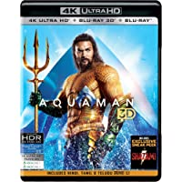 Aquaman (4K UHD + Blu-ray 3D + Blu-ray)