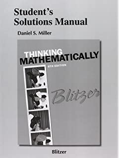 Thinking mathematically 6th edition robert f blitzer students solutions manual for thinking mathematically fandeluxe Images