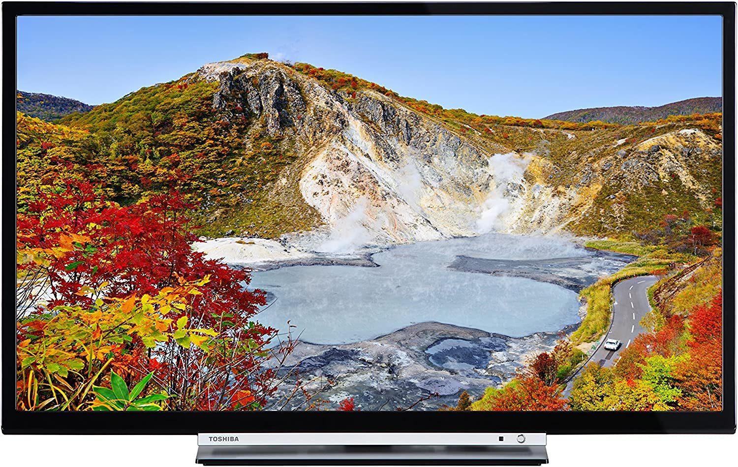 Toshiba 24W3753DB 24-Inch HD Ready WLAN Smart TV with Freeview Play - Black (2017 Model) (Certified Refurbished): Amazon.es: Electrónica