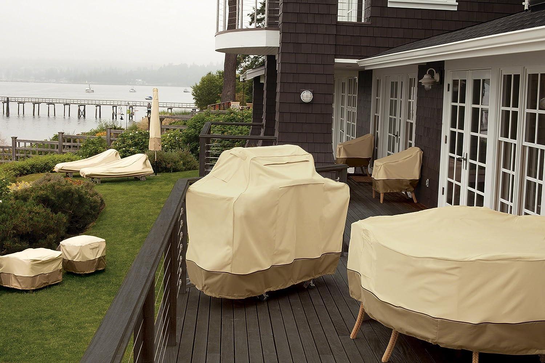amazon.com : classic accessories veranda log rack cover, 4-feet ... - Patio Cover Design Software