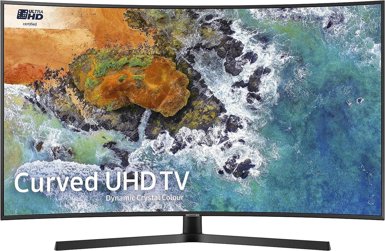 SAMSUNG Ue55nu7500 55 Pulgadas Curvado dinámico Cristal Color 4k Ultra HD HDR Certificado Smart TV: Amazon.es: Electrónica