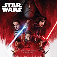 Star Wars: Episode 8 The Last Jedi Official 2019 Calendar - Square Wall Calendar Format