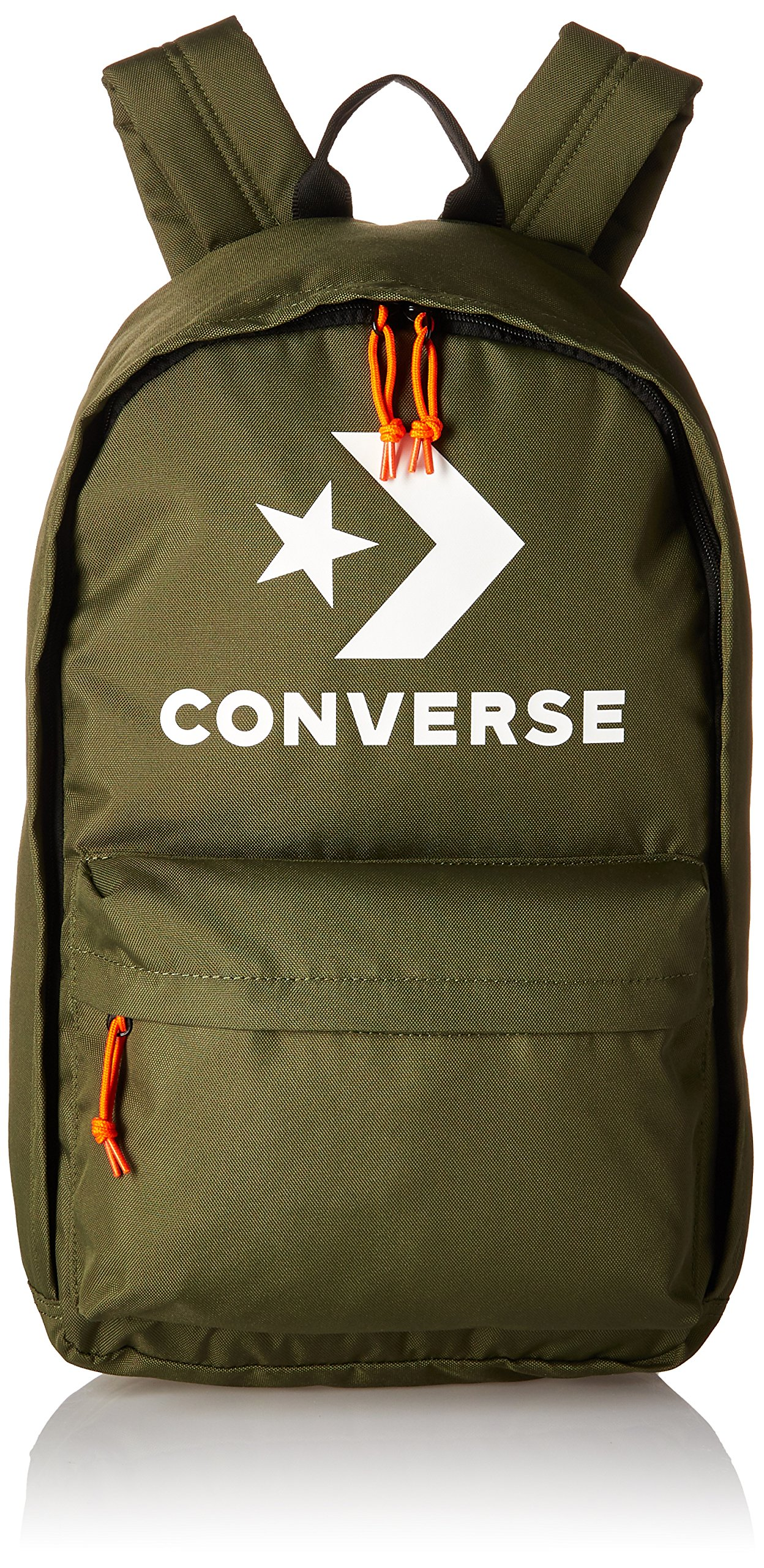 Converse Edc 22 Star Chevron Print Backpack, Hunter Green/White, One Size