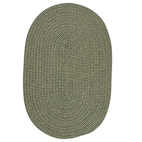 Softex Check Rug, 5 by 8-Feet, Myrtle Green Check