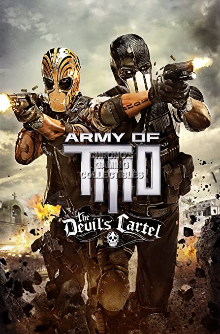 Amazon.com: CGC Huge Poster - Army of Two The Devils Cartel ...