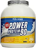 Body Attack Power Protein 90, Banana Cream, 2kg Dose