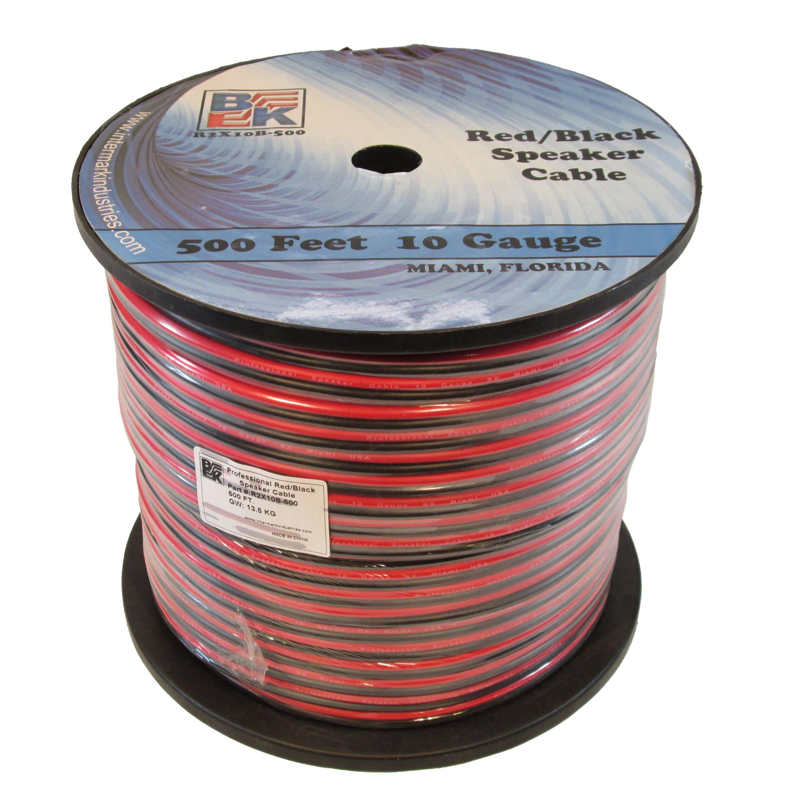 Blast King IR2X10B-500 10 Gauge 500-Feet Speaker Wire