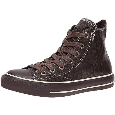 8200ecf08ff5 Converse Chuck Taylor All Star European Leather Brown 11.5 B(M) US Women    9.5 D(M) US Men  Amazon.in  Shoes   Handbags