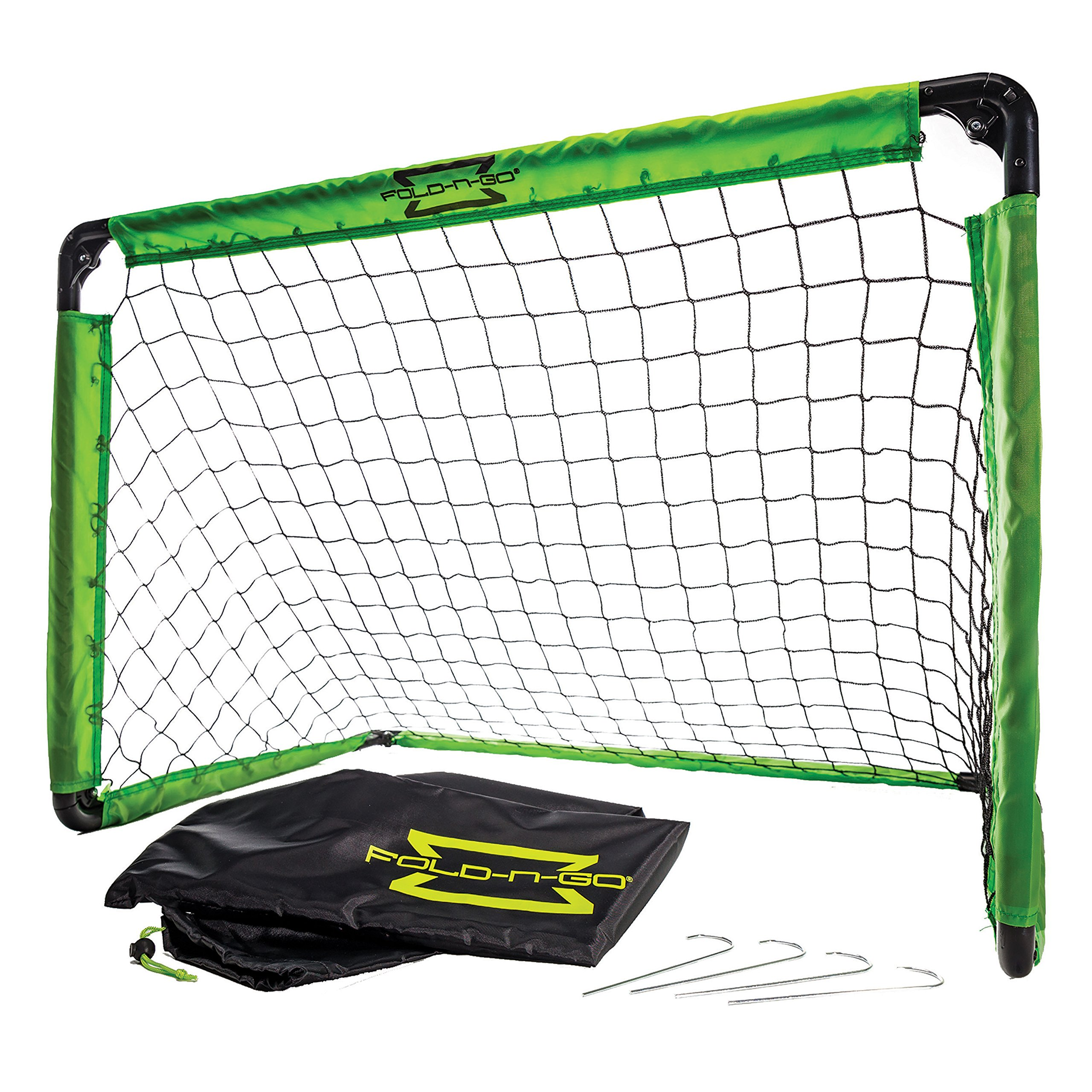 Franklin Sports Kids Soccer Goal with Carry Bag – 36 x 24 x 24 inches