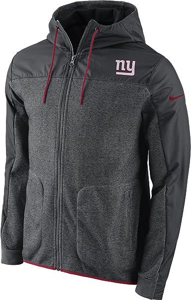 Men's Nike New York Giants AV15 Winterized Full Zip Jacket