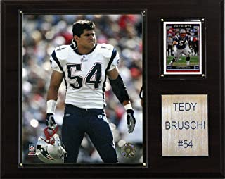 product image for NFL Tedy Bruschi New England Patriots Player Plaque