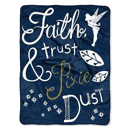 Amazon Northwest Disney Tinkerbell Faith Trust And Pixie Dust Unique Tinkerbell Fleece Throw Blanket