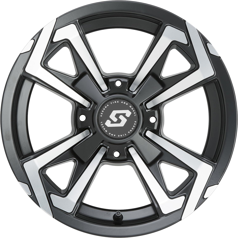 12X7 // 4X110 5+2 for 14-17 Honda PIONEER4 Sedona Riot Wheel
