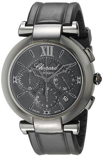 Chopard hombre 388549 - 3007 RBK Imperiale pantalla analógica Swiss - Reloj automático negro: Chopard: Amazon.es: Relojes