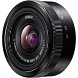 Panasonic H-FS12032E-K - Objetivo para Micro Cuatro Tercios (distancia focal 12-32 mm, estabilizador, diámetro: 59 mm), negro