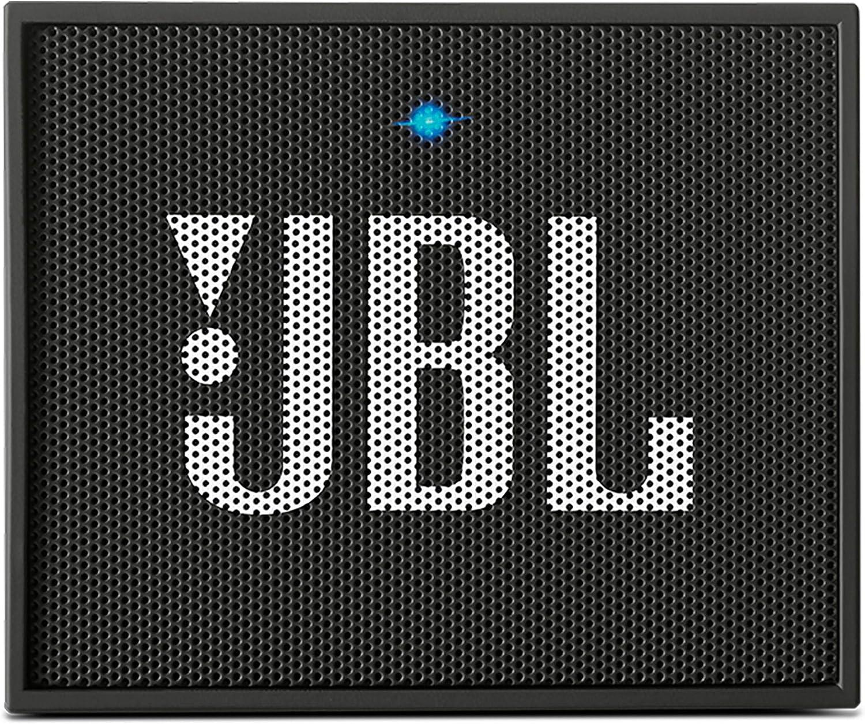 JBL GO Portable Wireless Bluetooth Speaker W/A Built-in Strap-Hook (Black)