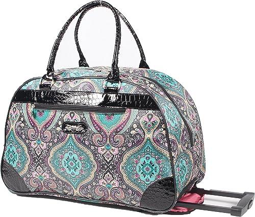 Kathy Van Zeeland Designer Duffel Bag