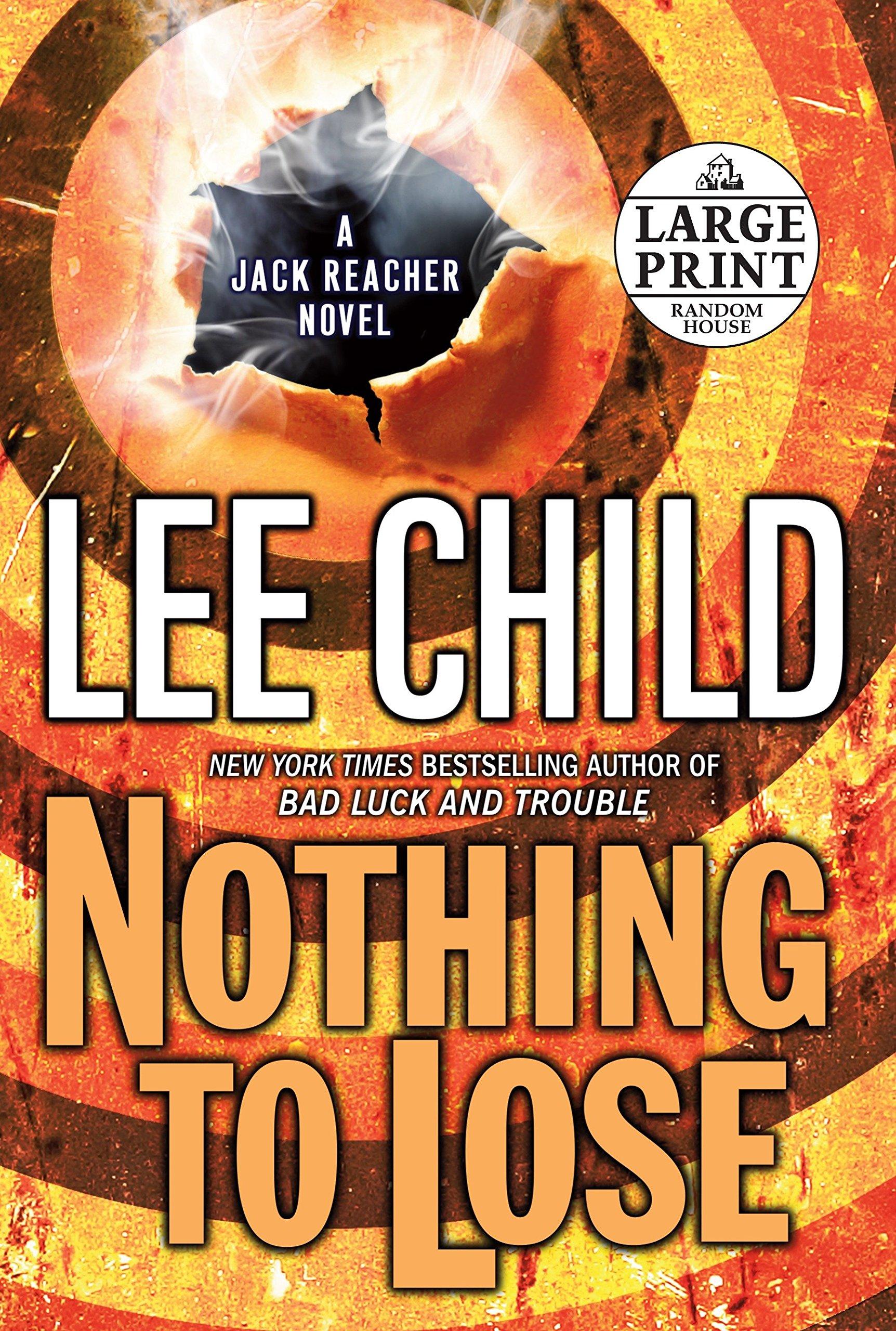 jack reacher books in chronological order
