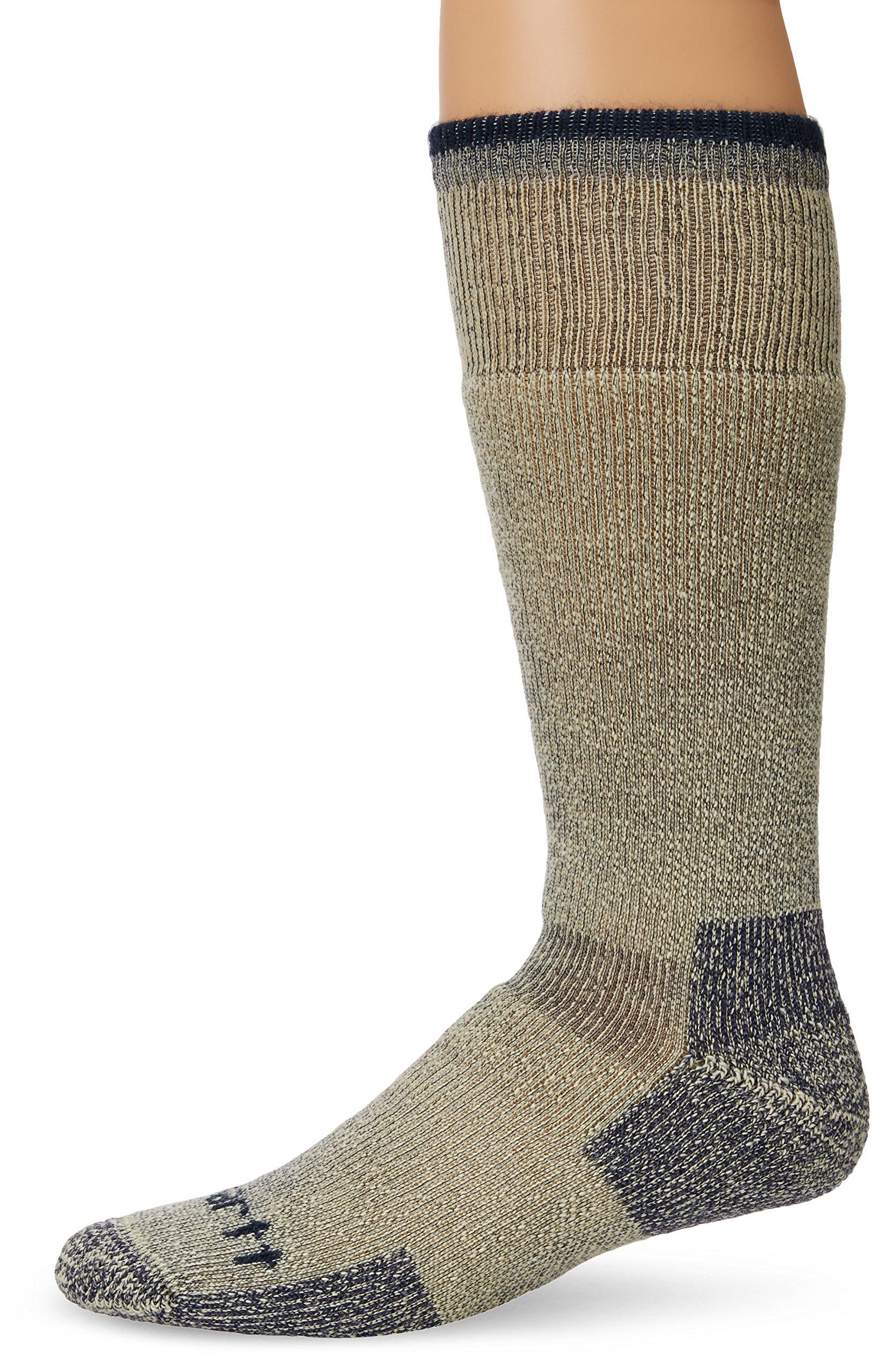 Carhartt Men's Arctic Wool Heavyweight Boot Socks - Shoe: 11-15 - Navy