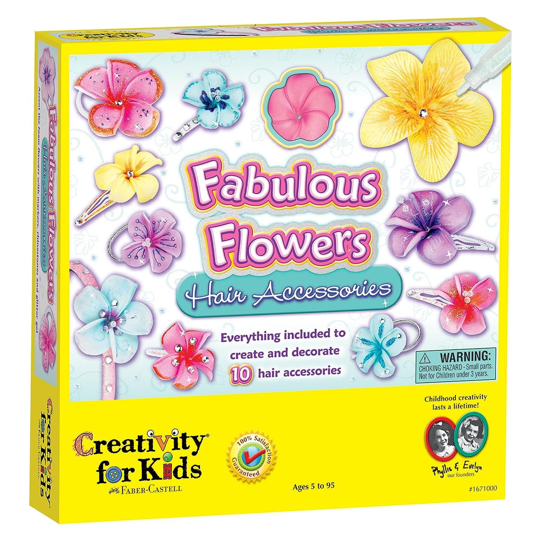 Amazon Creativity For Kids Fabulous Flowers Hair Accessories